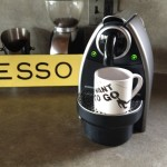 Lungo Cup on an Essenza