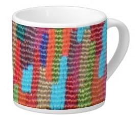Woven Skyline Lungo Mug