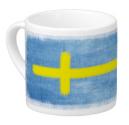Swedish Flag Lungo Cup
