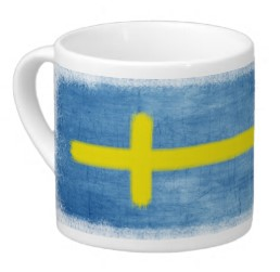 Swedish Flag Lungo Mug