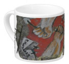 Berlin Wall Graffiti on Lungo Mug