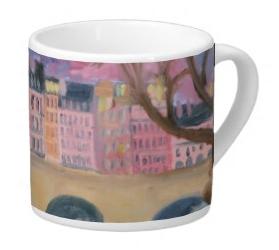 Pont Neuf, Paris, Lungo Mug