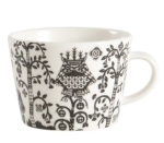 Black Iittala Taika Coffee Cup