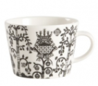 Iittala Taika Coffee Cup: Black