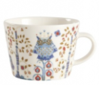 Iittala Taika Coffee Cup: White