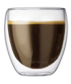 Bodum Glass Coffee Cups