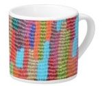 Skyline Weave Pattern on Lungo Mug