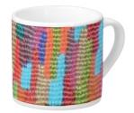 Skyline Weave Pattern on Lungo Mug