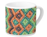 Southern Weave Pattern on Lungo Mug