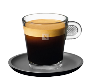 The Nespresso Glass Lungo Cup (1/2)