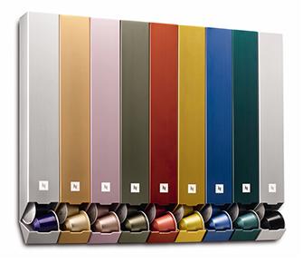 Aluminum Sleeve Dispenser    Pure Origin Grands Crus