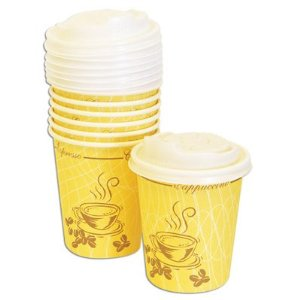 Disposable to-go lungo cups (2/2)