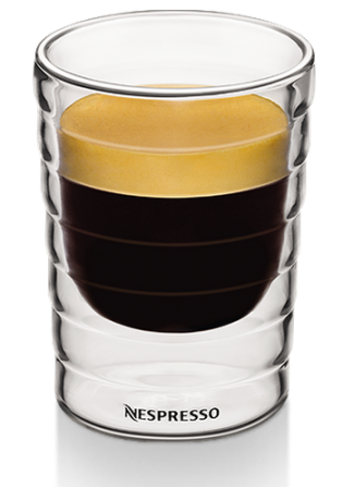 glass lungo cups for nespresso lungos