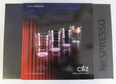 4 Nespresso CitiZ Espresso Cups