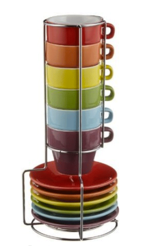 Stackable Espresso Cups