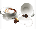 NINFEA Classica set of coffee cups and saucers