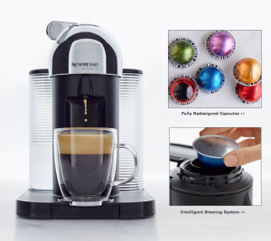 Nespresso's new VirtuoLine coffee maker